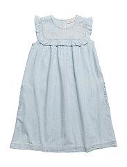 Dress sleeveless - DENIM LIGHT BLUE