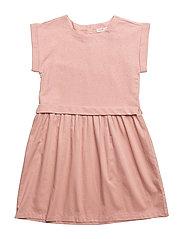 Dress short sleeve - PEACH BEIGE