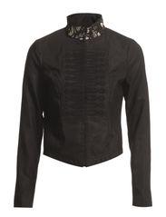 Soiree taffeta jacket - Black