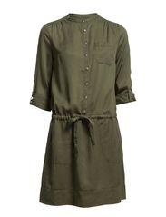 Dress long sleeve,Long Sleeve - DARK VETIVER