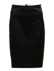 Skirt,Above knee - BLACK