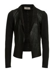 Jacket,Long Sleeve - BLACK
