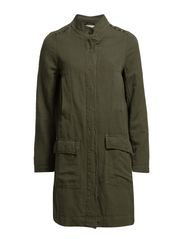 Light outerwear,Long - DARK VETIVER