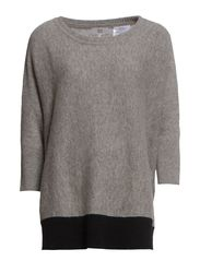 JOAN KNIT - GREY MELANGE