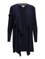BASIC COTTON MELANGE-01 - DRESS BLUE