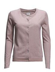BASIC COTTON MELANGE-02 - ROSE