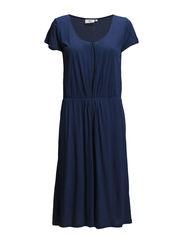 VISCOSE MELANGE JERSEY - DRESS BLUE MELANGE