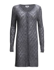 SPRING MOHAIR POINTELLE - FROST GREY