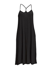 SUMMER DRESSES SOLID - BLACK