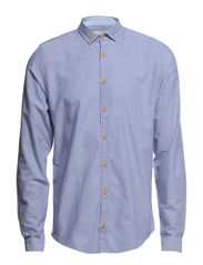 SHIRT L/S - OXFORD - Blue boy