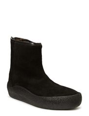 Low Curling Boot - Black