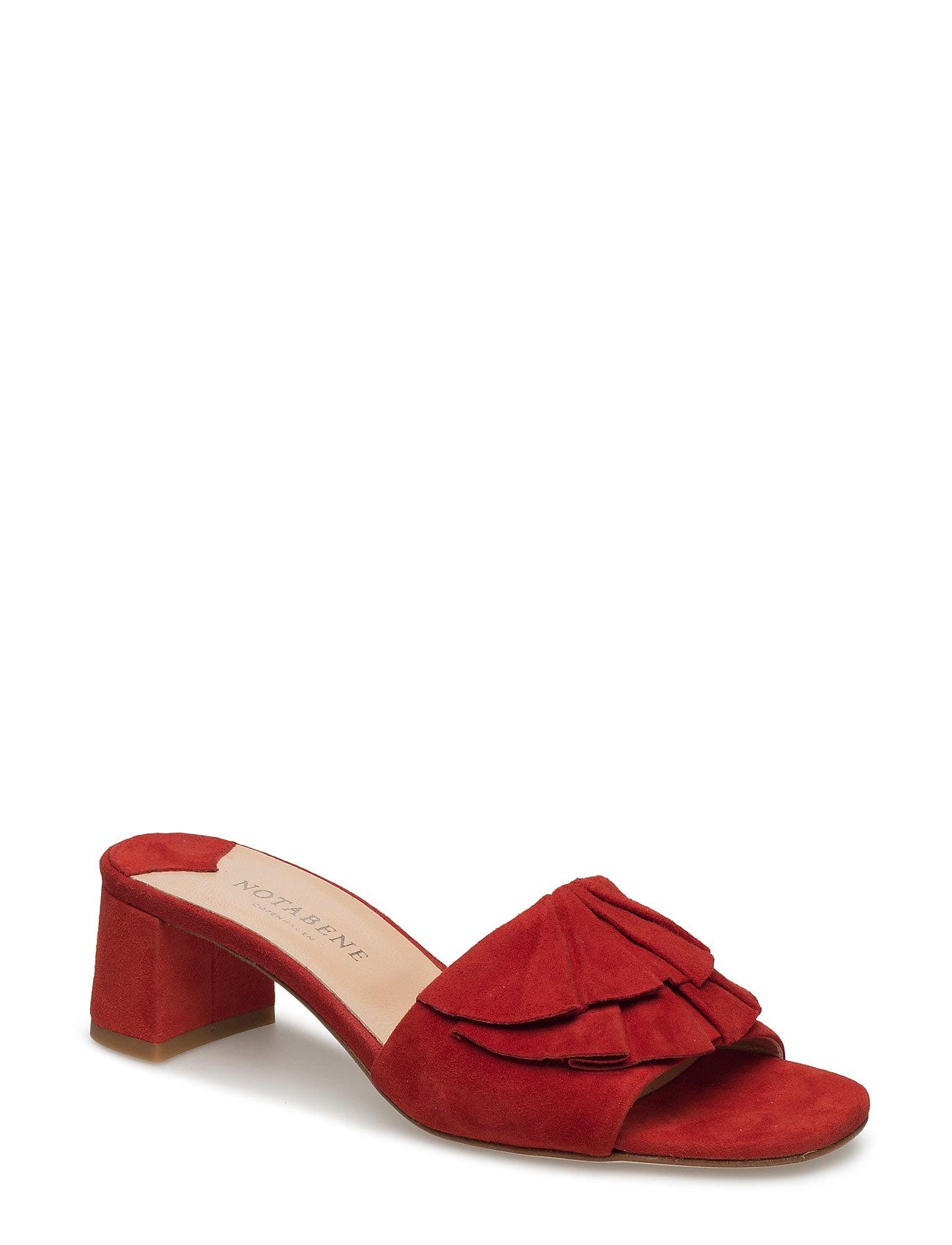 Rosa NOTABENE Sandaler til Damer i Rød