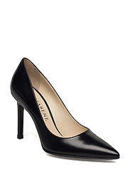 Jane Pump Bridle - BLACK LEATHER