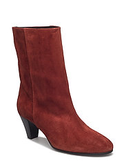 Laura - RUSTY RED SUEDE