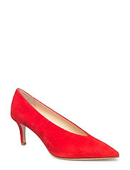 BETHY - RED SUEDE