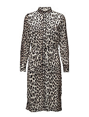 Gypsy Dress - LEOPARD