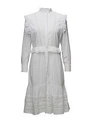 Gina Long Dress - WHITE
