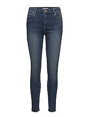 Hunter Skinny Jeans - BLUE DENIM