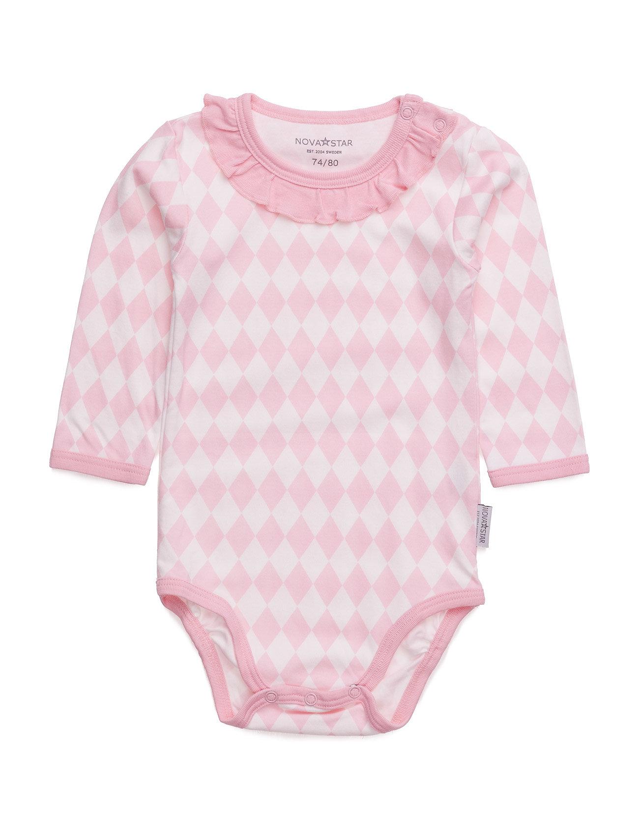 Pink Square Body NOVA STAR Langærmede bodies til Børn i Lyserød