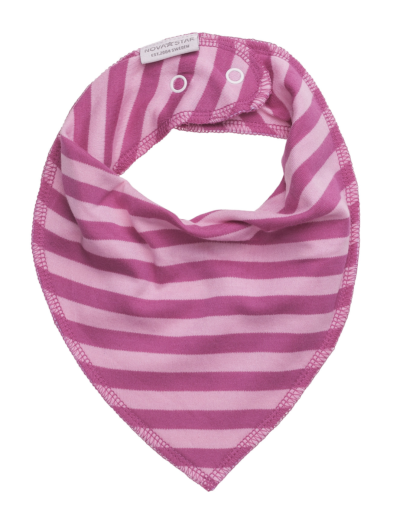 Pink Striped Dry Bib NOVA STAR Hagesmække til Børn i Lyserød