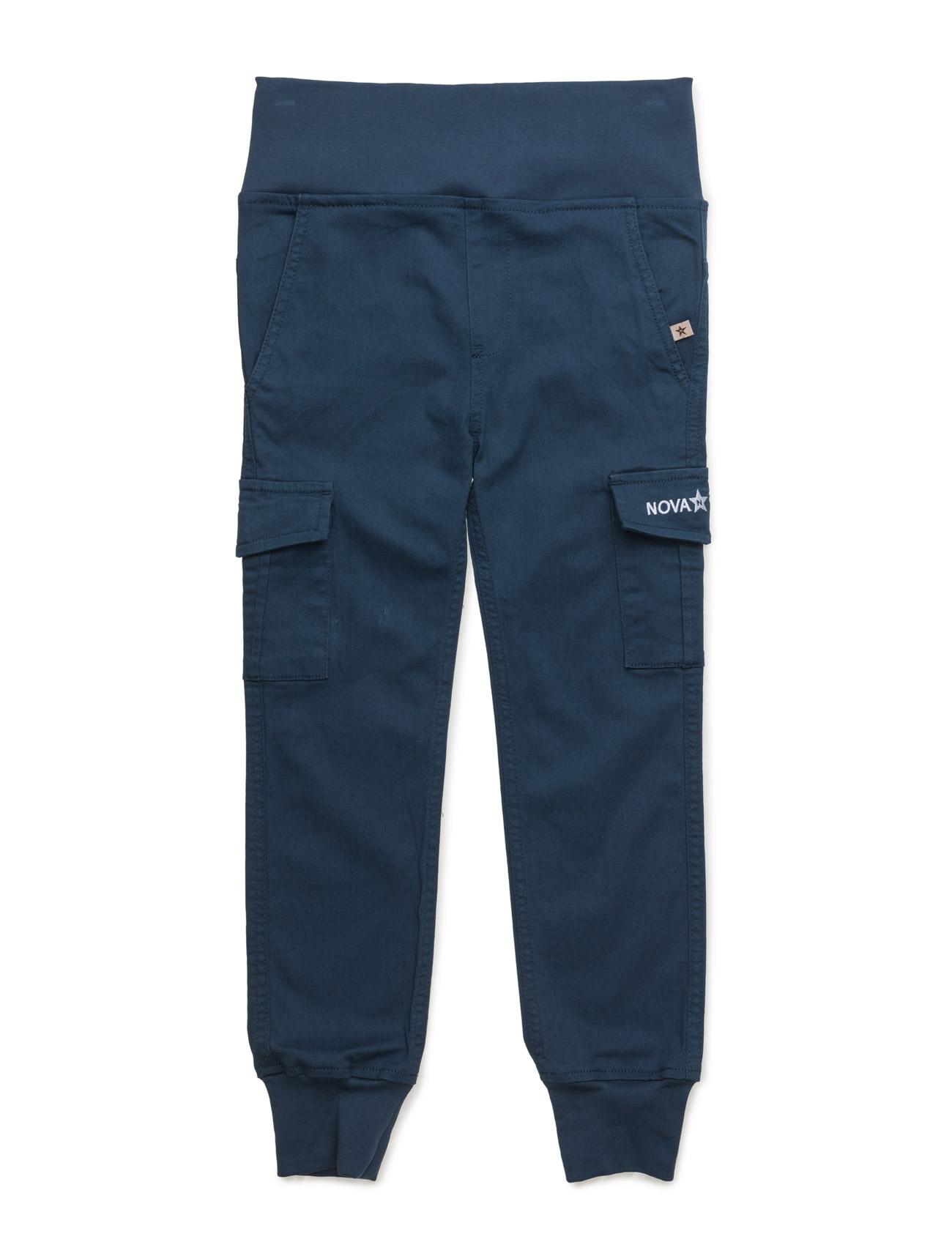 Cargo Trousers Marine NOVA STAR  til Børn i Blå