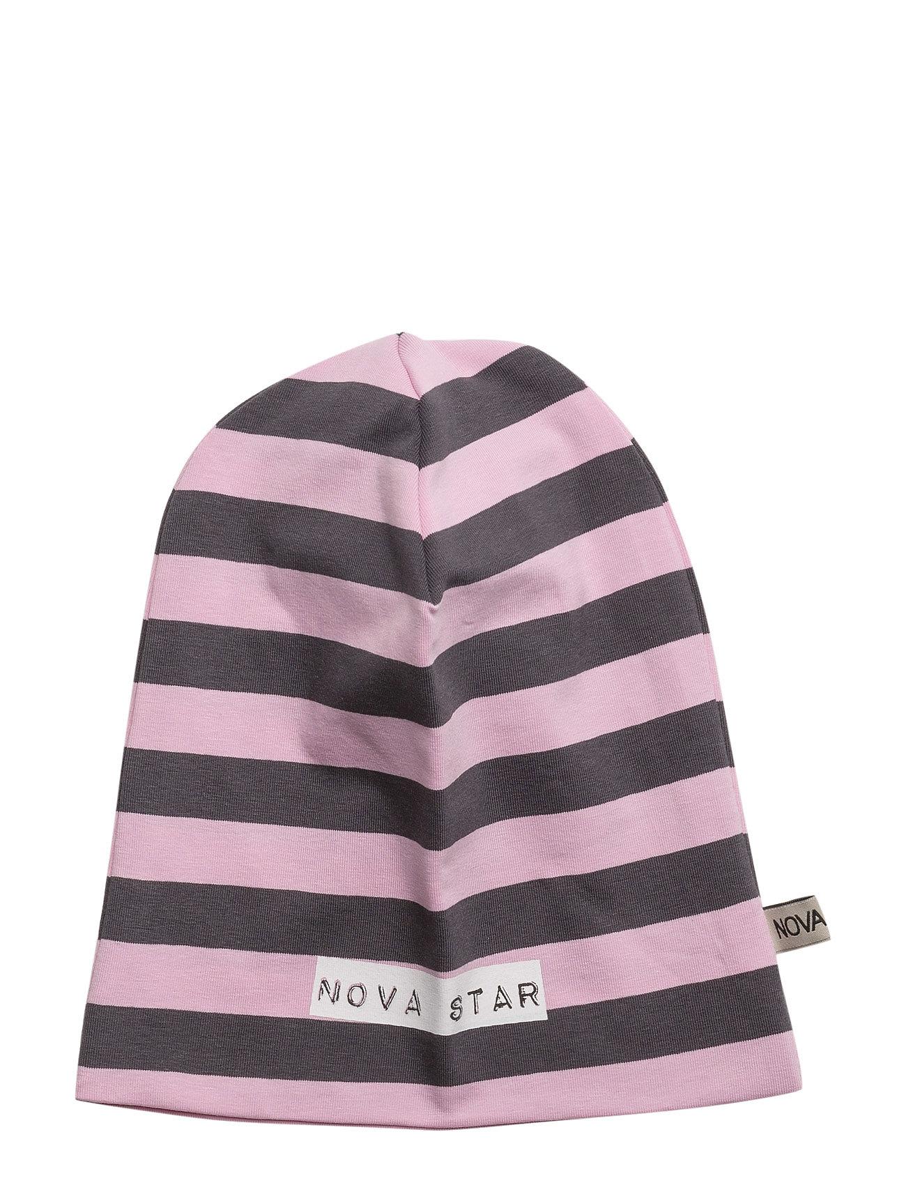 3d339d396a7 Køb Beanie Striped Pink NOVA STAR Hatte & Caps i til Børn på nettet