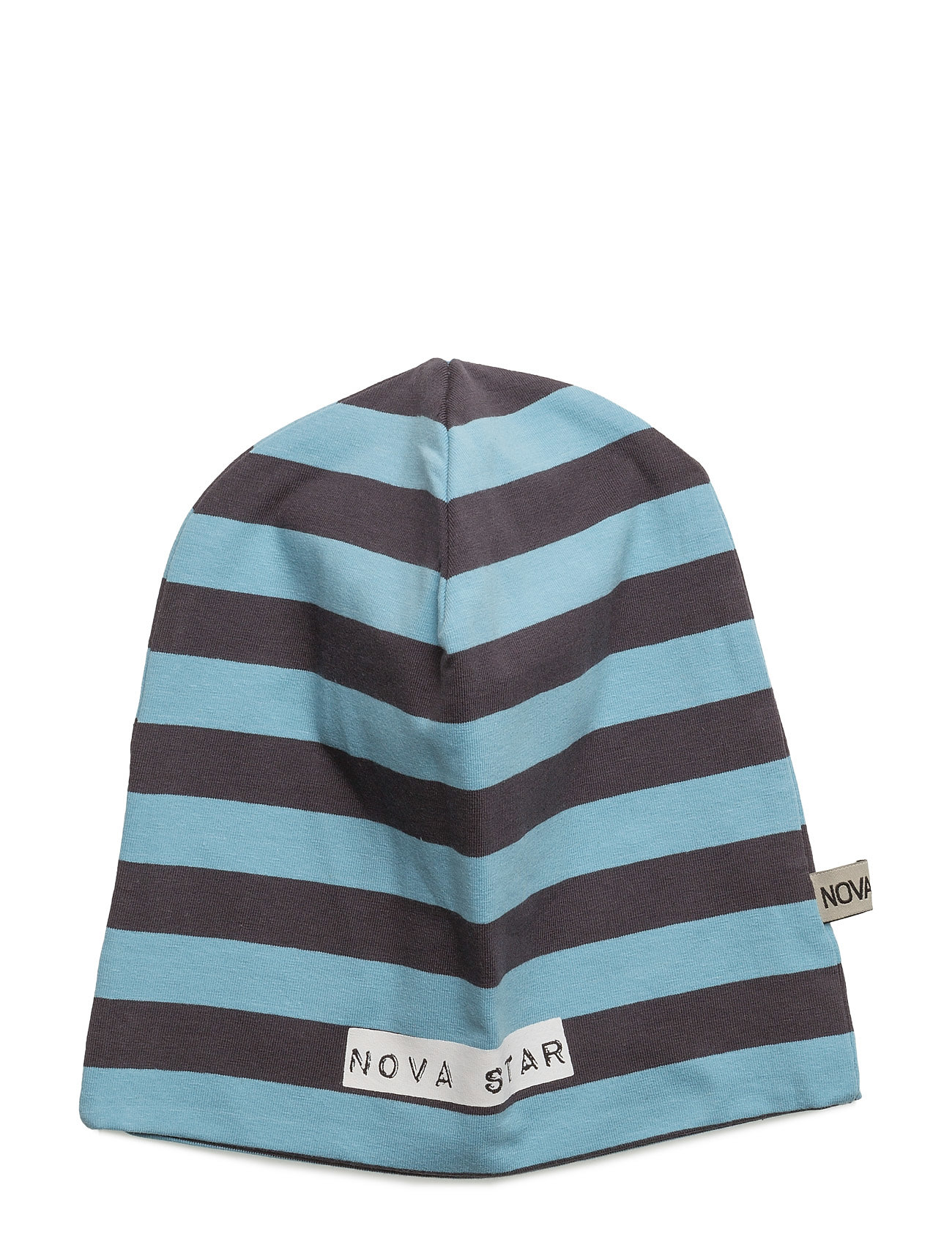 Beanie Striped Blue