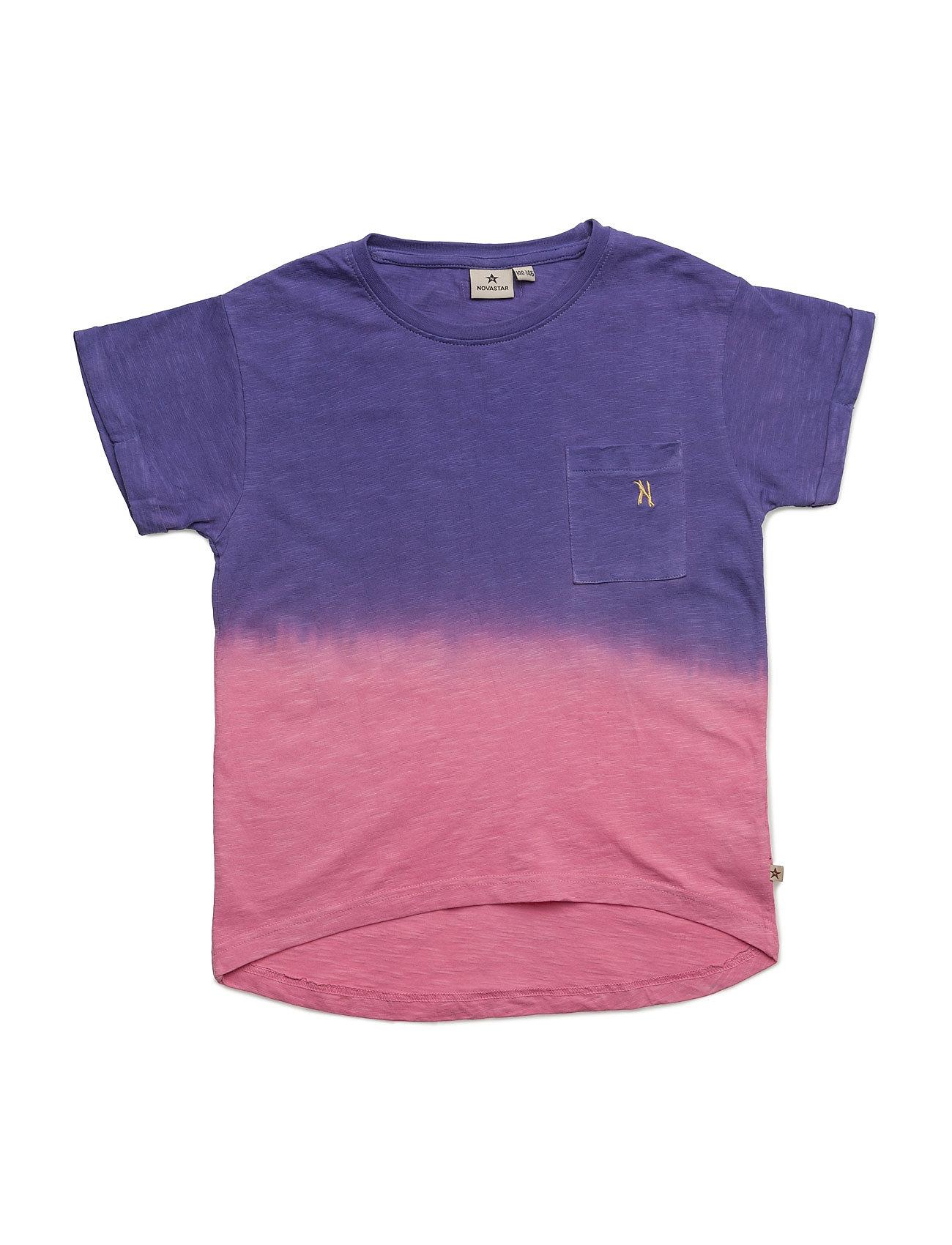 Dip Dyed Purple T NOVA STAR Kortærmede t-shirts til Børn i Lilla