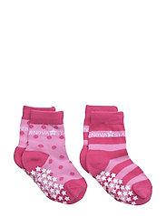 Anti-Slip Pink Socks - PINK