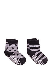Anti-Slip Grey Socks - GREY