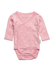Pink Dot Wrap Body - PINK