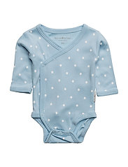 Blue Dot Wrap Body - BLUE