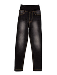 Straight Fit Denim Dark - BLUE