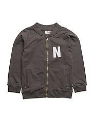 Sweater Jacket Grey - DARK GREY