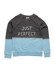 Sweater Perfect Dip - DARKGREY/LIGHTBLUE