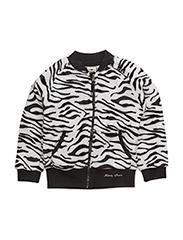 Fleece Zebra - WHITE