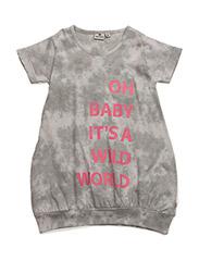 Dress wild world grey - GREY