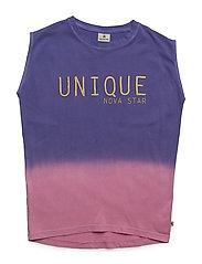 Cosy Dress Dip Dye - PINK/PURPLE