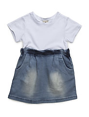 Dress Denim - BLUE/WHITE