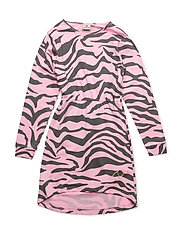 Dress Zebra Pink - DARKGREY/PINK