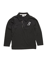 Polo Sweater Black - BLACK