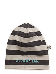 Striped Beanie Ash - GREY