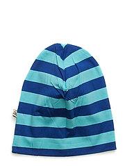 Beanie striped Blue