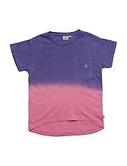 Dip Dyed Purple T - PURPLE