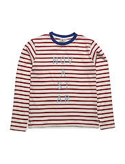 Line T RedS - OFFWHITE/RED