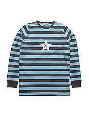 Stripe T - DARKGREY/BLUE