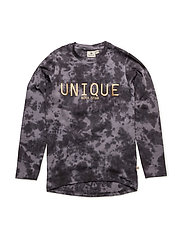 Unique LS Top - GREY/BLACK