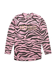 Zebra Long sleeve - PINK/DARKGREY