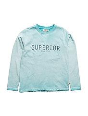 Superior T Blue LS - TURQOISE