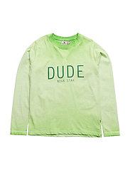 Dude T Green LS - GREEN